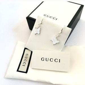 BRAND New Authentic GUCCI Sterling silver earrings